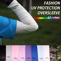 Wholesale Fashion Arm Sleeve cover Sun UV Protection for Sports golf tennis cycling baseball climbing oversleeve colors pairs AS
