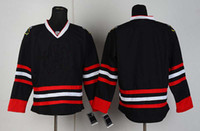 Wholesale 2013 Play offs stanley cup Hockey Jersey Black Blank Mix Order M XXXL