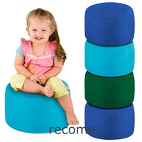 Wholesale Kids Seat Pods beanbag stools Many colors point Bean Bag Footstool Indoor Outdoor PINK tea cup table beanbags footrest