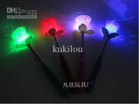 Wholesale Rice lights particle spring light rice STICK simulation flash roses lights flower rice