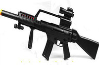 Wholesale Taidi toy gun vocalization infrared light emitting artificial gun submachinegun model
