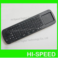 Wholesale New Measy RC12 IN Smart Wireless GHz Air Mouse Touchpad Handheld Keyboard Combo post