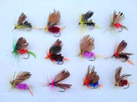 Wholesale TROUT FLIES FISHING HOOKS FLY DRY WET