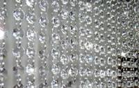 acrylic acrylic octagon beads - Chandelier Wedding Crystal acrylic Lamp Curtain Octagon Bead Chain