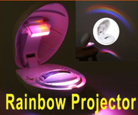 Wholesale 20pcs Romantic Rainbow Projector LED Light Room Decoration Led Night Light