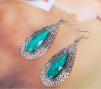 ancient emerald - Sample order New han edition style restoring ancient ways of water droplets form classical earrings you re worth it