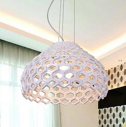 Wholesale Flos Modern Acrylic Pendant Lights Italy Fashion Pendant Lamp Dia CM Bedroom Dining lighting Indoor Lighting Fixture PL080