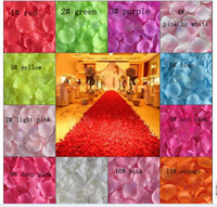 Wholesale Highquality Silk Rose Flower Petals Wedding Favors Festival Party Decoration assorted bags