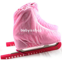 Wholesale New Pair Coulors Ice Skates Skating Blade Guards Protector One Size Fits All