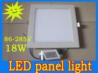 Wholesale 18W led light panels mm ceiling light white warm white AC85 V superbrightness LED round panel light Inch SMD3528 led light panel