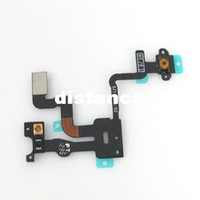 Wholesale Grade A Quality For iPhone S Proximity Light Sensor Power Button Flex Cable Ribbon Replacement