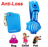 Wholesale Pet child Purse Valuable anti lost alarm safety security personal anti lost alarm with transmitter H1798
