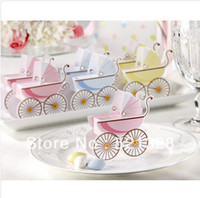 best prams - Wedding boxes of Classic Pram favor box Best for candy boxes baby shower wedding favor Cut