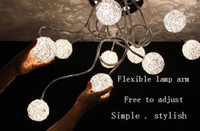 Wholesale free to adjust New Modern Fixture Lighting Crystal Light LED Ceiling Light Pendant Chandelier Lamp