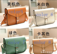 Wholesale 2013 New Arrival Envelope Type Leather Shoulder Bag Fashion Hot selling Luxury OL Lady Women fashion PU Leather Bags LL2