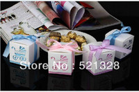 Wholesale Damask Wedding favor paper box favour gift candy box Push baby carriages BB car candy box