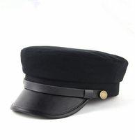 Wholesale New Arrivals Women Men s Fashion Fashion Street Hats Cotton Snapback CasualFlat Top Student s Hat