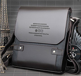 Free Shipping- Brand new men's PU leather Business briefcase   top qualtiy men's shoulder bag sell at factory price