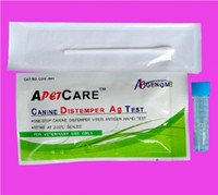 Wholesale 10pcs box One Step distemper test Antigen Rapid Test Kit CDV Ag