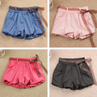 Wholesale 2013 Korean version of the new summer women s shorts shorts shorts bow ribbon bloomers casual pants a pack