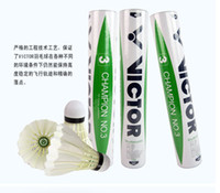 Wholesale Victor CHAMPION NO badminton shuttlecock Hot Selling genuine guaranteed