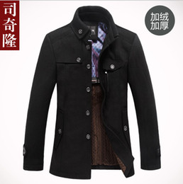 Wholesale 2013 High Quality Brand Jacket for men coats new casual mens thicken woollen jackets coat fashion men s jacket men overcoat winter jacket