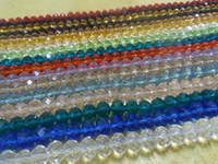 Precio de Mixed crystal beads-100pcs marca de joyería de bricolaje mezclado porción Color Loose 8mm Perlas de cristal Swarovski Rondelle