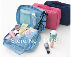 Wholesale Fedex Waterproof multi pouch Travel Composition makeup cosmetic bag Storage package travel cosmetic