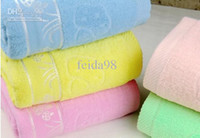 Wholesale hot Factory direct cotton the five the color weakness twist yarn Goyang jacquard mushrooms bath towe