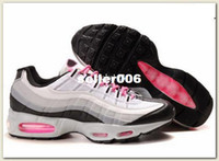 Wholesale 95 Men s Running Athletic Shoes white hot lava black granite