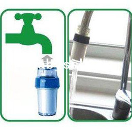 Wholesale Home Kitchen Simple Easy Faucet Tap Water Clean Filter Double Purifier Head PP B376