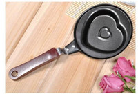 Wholesale freeshipping retail Mini Non Stick Family Egg Frying Pancakes Kitchen Pan Cauldron Valentin