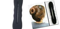 Wholesale Promotion X Sponge Bun Clip Maker Former Foam Twist Hair Tool Hair Accessory Hair Styling