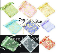Wholesale fashion gift bags size x9cm Shopping good helper mix style amp color