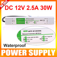 Wholesale 110V V to V W Waterproof Electronic LED Driver Power Supply Transformer