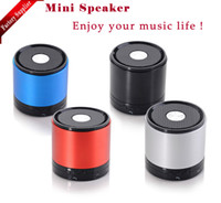 Wholesale 2013 SF11 MINI Speaker Portable Wireless Bluetooth TF Card Speakers Multi color Via DHL Shipping