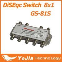 Wholesale Original GASTONE GS S in DiSEqC Switch Satellites FTA TV LNB Switch Post