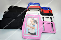 Wholesale For Samsung Galaxy S4 i9500 S IV S3 i9300 Sport Armband Arm band Gym Jogging Case Protective Cover Belt Skin Soft Pouch