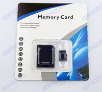 Wholesale 32GB Micro SD Card TF Memory Card Class GB Flash Micro SD SDHC Cards high speed With Adapter Retail Package DHL GB Micro SD