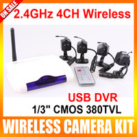 Wholesale 2 G CH Mini Wireless Camera Home USB DVR CCTV Security Surveillance System