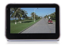 Wholesale 4 Inch GPS Navigator MTK MHz Free Maps FM MP3 MP4 Player DHL FEDEX Freeshipping