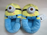 Wholesale Soft Minion Stuffed Despicable Me Slippers Collectible Cuddly Stewart quot Plush slipper