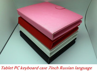 Wholesale USB Keyboard amp Leather Cover Case Bag Keyboard for inch tablet pc mini pad game pad