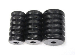 Wholesale new size Aluminum TATTOO GRIP amp Tube Grips Tubes Metal Back Stem Set Screw