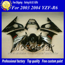 5 Gift high grade racing fairing kit for YAMAHA 2003 2004 YZF-R6 03 04 YZFR6 YZF R6 YZF600 custom fairings body kit zs49