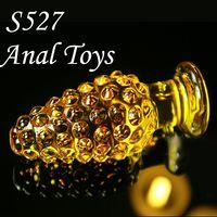 cheap vibrator - News Amber Glass Cheap Dildos Vibrators Massive Dildos for Lady S527