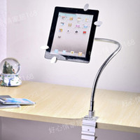 Wholesale lazy bracket Metal Innovative Multi functional Stand Holder for Ipad Tablet PC Stand Bracket bed des