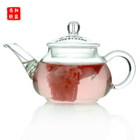 Wholesale specialty wholesaler glass teapot glass cup Flower Tea