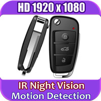 Wholesale New Version HD P Spy Car Key Hidden Camera DVR with IR Night Vision Motion Detection
