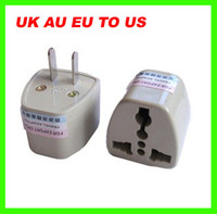 Wholesale Best price Universal World Travel Current UK AU EU to US AC Power Plug Travel Adapter